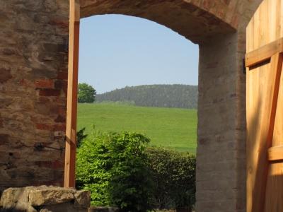 Der Klosterwanderweg führt durch den Harz.  Foto: (c) Ole J. B. Klemm  / pixelio.de