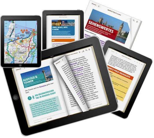 Gut informiert auf Städtereisen mit E-Books von Marco Polo. Foto: (c) Marco Polo