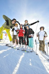 Im Skigebiet Nauders hat man sich einiges für Familien einfallen lassen. Foto: (c) Kinderoutdoor.de