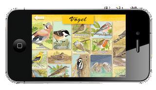 """Eine Kinder App um die Natur zu erklären ist """"Erlebnis Wald"""". Foto: (c) Musikverlag Edition AMPLE"""
