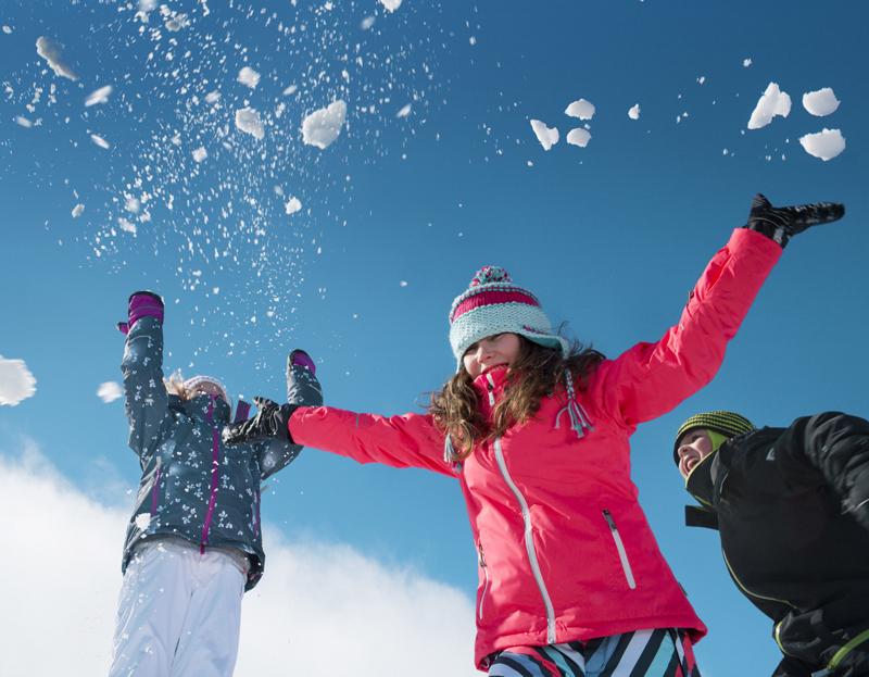 Mit der Wintermode von Reima ist die kalte Jahreszeit ideal für Kinder. Foto: (c) Reima