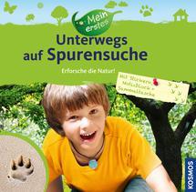 """Kinderbücher vom Kosmos Verlag vermitteln den Kindern viel von der Natur. So auch """"Unterwegs auf Spurensuche"""" Foto: (c) Kosmos Verlag"""