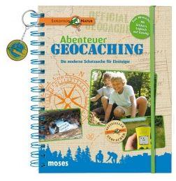 Kinderbücher unter den Weihnachtsbaum! Abenteuer Geocaching  vom Moses Verlag freut  sicher die größeren Kinder. Foto: (c) Moses Verlag