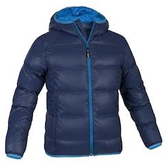 Warm, wärmer, am wärmsten, Maol Jacket von Salewa. Daune hält die Kinder kuschelig warm. Foto: (c) Salewa