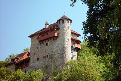 Eine Jugendherberge der besonderen Klasse ist Schloss Marienstein in der Schweiz.  Foto (c) Kurt Michel  / pixelio.de