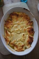Topfennockerl wenn sie frisch aus dem Ofen kommen. Foto (c) Kinderoutdoor.de