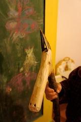 So sieht das Steckenpferd in der Rohversion aus. Macht was draus und verziert es. Foto (c) Kinderoutdoor.de