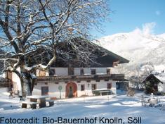 Vom Bergbauernhof direkt auf die Piste! Die Region Wilder Kaiser bietet Familienskiurlaube auf dem Bauernhof an.