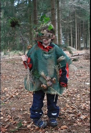 Trolle und andere Märchenwesen trifft man mit Querwaldein im Wald. Foto. (c) www.QuerWaldEin.de