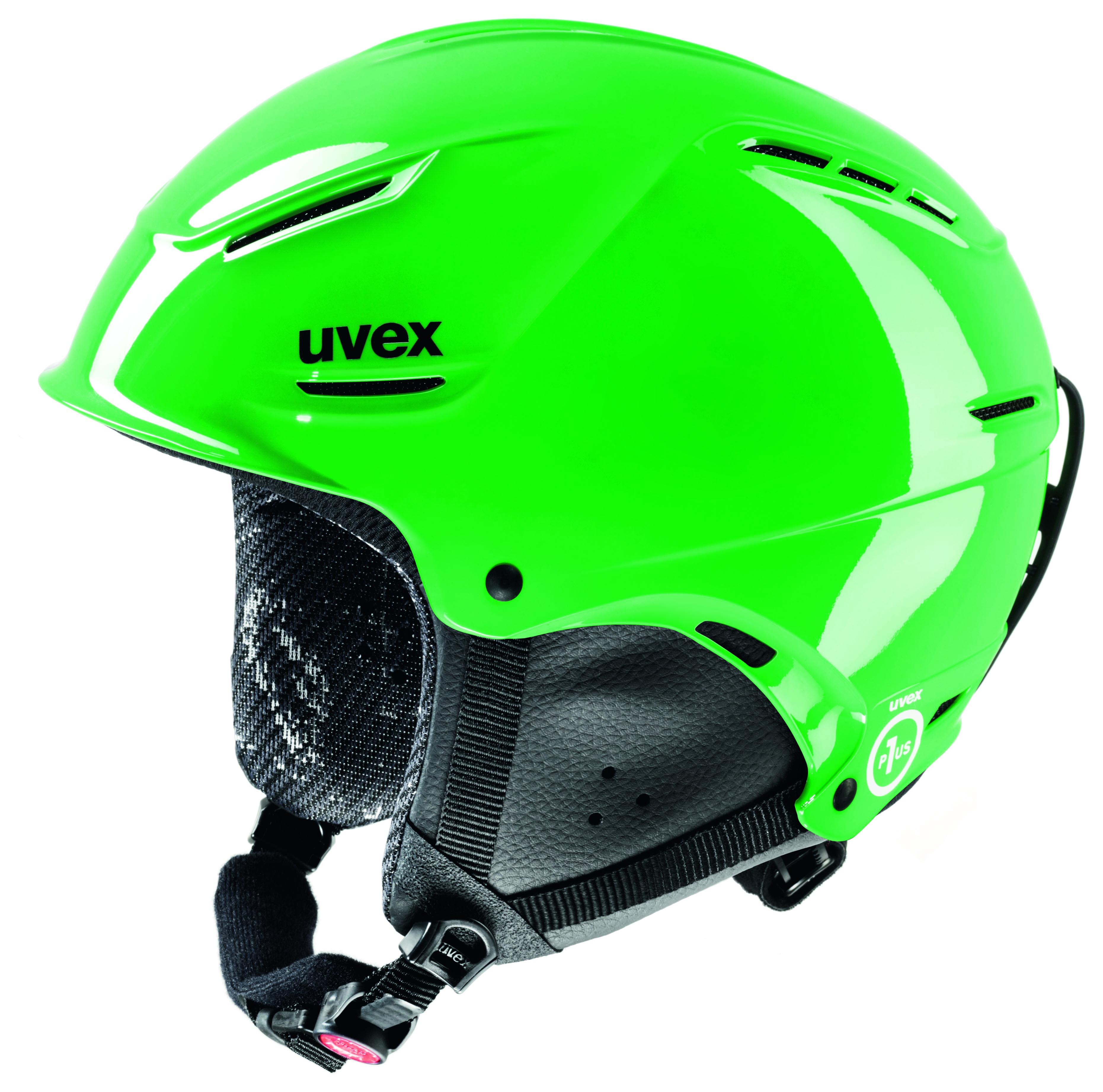 Skihelme sind leichter uns sicherer wie der Uvex p1us junior.  Foto (c) uvex
