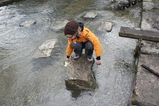 Rutschfeste Sohle und cooles Design: Der Salewa Junior Alp Trainer. Foto (c) Kinderoutdoor.de