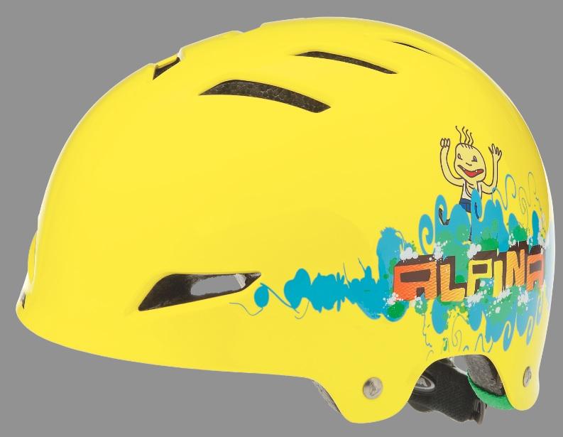 Ein Fahrradhelm der besonderen Klasse: Alpina Park Junior.  Foto: (c) Alpina