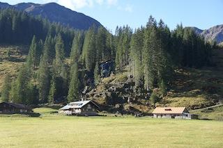 Die Alpen Melköde liegt auf dem Weg zur Schwarzwasserhütte.  Foto (c) Kinderoutdoor.de