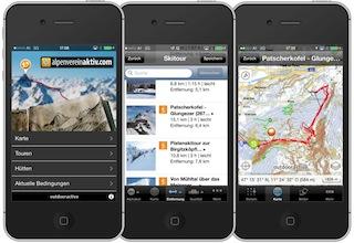 Die App von Alpenvereinaktiv ist ein Alleskönner und kostenlos! foto (c) DAV