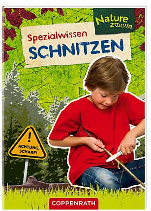 Ab ins Osternest! Kinder lieben schnitzen und mit diesem kleinen Buch lernen sie es.  Foto (c) coppenrath