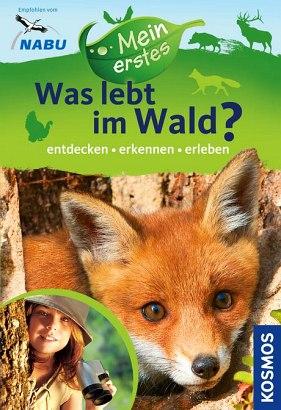 Ein Kinderuch der besonderen Klasse: Was lebt im Wald? Foto (c) Kosmos Verlag