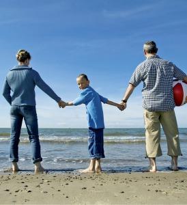 Kurzurlaub auf Rügen oder an der Seenplatte. Attraktive Angebote haben die Jugendherbergen für Familien.  Foto (c) Deutsches Jugendherbergswerk