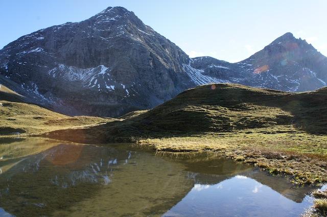 Wanderungen zu Bergseen. Stefan Herbke stellt in seinem neuen Buch tolle Ziele in den bayerischen Alpen vor.  Foto (c) Kinderoutdoor.de
