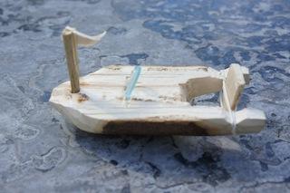 Fertig! Unser Motorboot von Basteln mit Kindern Foto (c) Kinderoutdoor.de