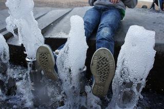 Kann so eine Sohle, wie die vom Swagy Surround von Superfit, wasserdicht sein? Foto (c) Kinderoutdoor.de