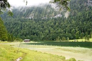 Wer Regen liebt, dem gefällt es hier am Ferchensee.  Foto (c) Kinderoutdoor.de