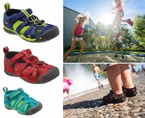 Keen Sandalen für die Outdoor Kinder: Das Modell Seacamp II überzeugte im Test. foto (c) Keen