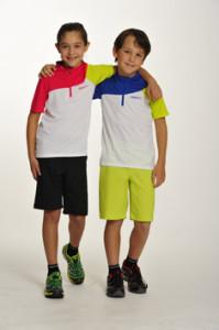 Gut geschützt vor Sonne sind die Kurzen in der neuen Craft Kinder Kollektion.  foto (c) Craft