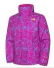 The North Face treibt es bunt bei den Kinderjacken, wie hier bei dem Girls Camfly Resolve Jacket.  Foto (c) TNF