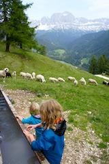 Bergtouren mit Kindern: Moderate Routen und Höhenmeter, damit die Kinder nicht außer Puste kommen.  foto (c) Kinderoutdoor.de