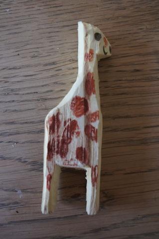 Fertig! Eine tolle Giraffe! Foto (c) Kinderoutdoor.de