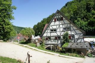 Schwäbische Gastlichkeit auf der Alb. Linsensuppe gehört dazu. Foto (c) Kinderoutdoor.de