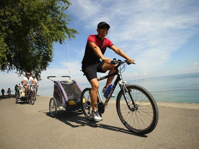 Eine Fahrradtour durch die Ostschweiz ist ein Ferienerlebnis, das lange anhält.  Foto Copyright: Ostschweiz Tourismus