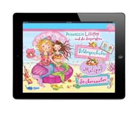 Die neue Prinzessin Lillifee App ist da. Dieses mal erlebt sie Abenteuer mit einer Meerjungfrau. Foto: (c) Blue Ocean Entertainment AG