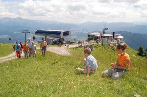 Im Lungau könnt Ihr mit den Kindern wandern und eine ganze Menge an Outdoor-Aktivitäten unternehmen.  Copyright: Bergbahnen Lungau  Lungau/ Salzburger Land/ A
