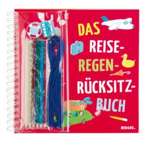 """Auto Spiele aus dem Ideenbuch: """"Das Reise-Regen-Rücksitzbuch"""". Foto (c) moses-verlag"""