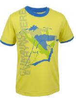 Ein T-Shirt dessen Name Programm ist: Pumuckl. Salewa zieht damit die kleinen Gipfelstürmer an.  Foto (c) Salewa