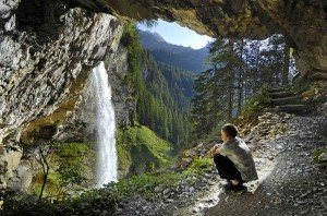 Obertauern bietet lohnende Ziele, zu denen die Kinder gerne wandern. Wie hier der Johanneswasserfall.  © Obertauern  Obertauern/ Salzburger Land/ A |
