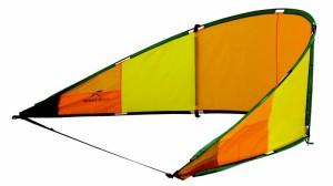 Sieht aus wie ein Drache zum Kitesurfen, ist aber eine Strandmuschel.  Foto (c) Oase Outdoors ApS