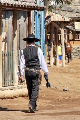Cowboy Schnitzeljagd und die Kinder fühlen sich wie im Wilden Westen! Hombre! Foto (c) Robert Babiak  / pixelio.de