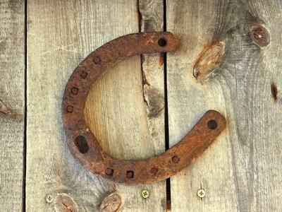 Hufeisenwerfen ist der Klassiker bei der Cowboy Schnitzeljagd.  Foto (c) Angelina S........  / pixelio.de