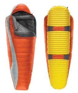 Isomatte und Schlafsack ergibt eine gute Nacht. Doch eine Isomatte die mit dem Schlafsack verbunden ist, bietet höchsten Schlafkomfort so wie der Antares von Therm-a-Rest Foto (c) Therm a Rest