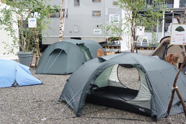 Zelten ist toll, besonders bei einem lauschigen Platz.... Foto (c) Kinderoutdoor.de