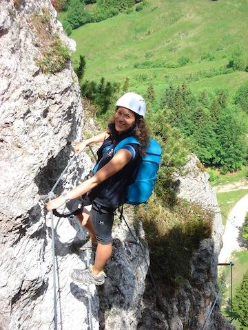 Klettersteige für Anfänger und Experten warten im Kaiserwinkl (Tirol) auf Euch. Foto ©TVB Kaiserwinkl/Tirol  Kaiserwinkl