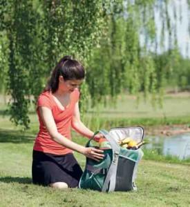 Coole Kühltaschen kommen von Outwell. foto (c) Oase Outdoors ApS.