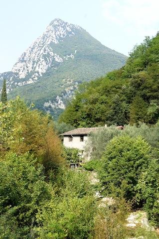 Papiermühlen standen im valle delle cartiere am Westufer vom Gardasee.  Foto (c) Kinderoutdoor.de