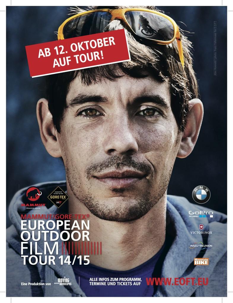 Die European Outdoor Film Tour ist wieder da. Bald zumindest. Ein Pflichttermin für alle Outdoorer.  Foto (c) EOFT