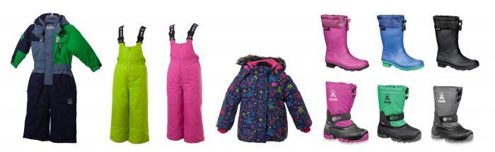 Eine bunte Sache! Kamik bietet Outdoor Kids die perfekte Ausstattung für den Waldkindergarten.  Foto (c) kamik