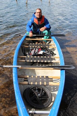 Alles drin was ein Kinderwagen braucht! Klein zerlegt passt der Bob revolution Pro auch in ein Kanu. Foto (c) KPB