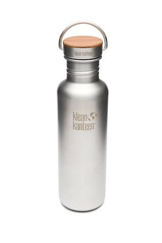 Klean Kanteen mit einer drei umweltfreundlichen Drei-Komponenten-Flasche.  foto (c) klean-kanteen