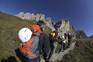Bergsteigen und Klettern ist in Südtirol auch im Herbst möglich. Foto (c) Südtirol Marketing/ Urheber Alessandro Trovati